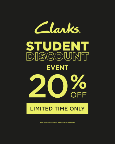 Student Discount event