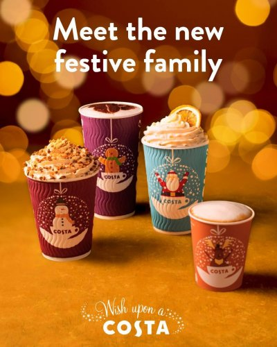 Christmas has landed at Costa
